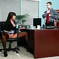 Busty MILF Gets The Job Done At Work - image