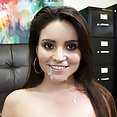 First Time Fuck For Petite Latina Cutie - image