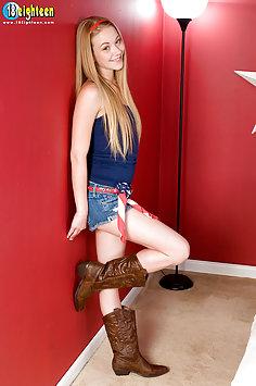 American Pie In Jean Shorts