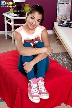 Cute Latina Teen With Nice Boobs