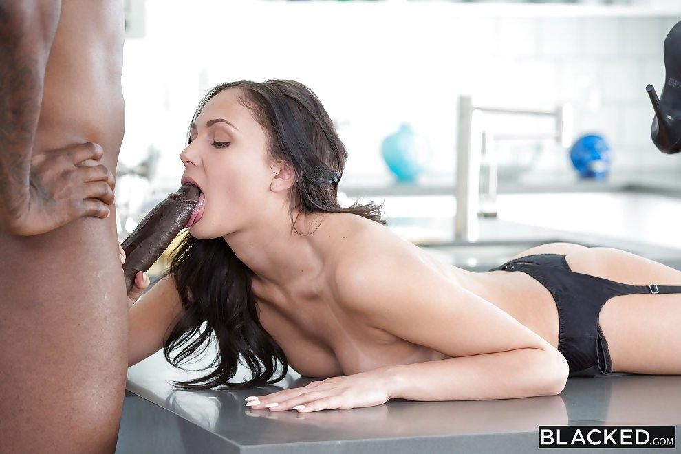 Blacked pop star ariana marie porn