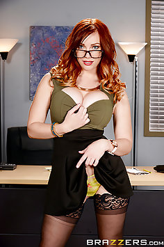 Dani Jensen Checking Out the New Hires