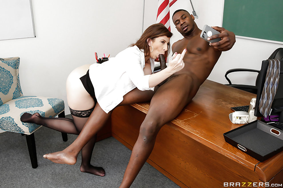 Teacher Fucks Black Cock