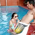 Carolina Sweets Pounded In The Pool - image