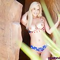 Kylie Page Does The 4th Of July Dirty Style - image