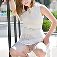 Blaire Gets Naked Outdoors - image