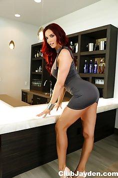 Jayden Cole Short Skirt Sexy Ass