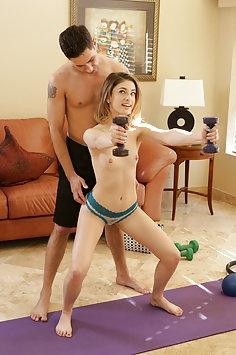 Body Shaking Workout Orgasm