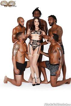 Avi Love Loves Black Cock